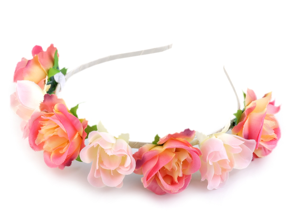 Čelenka do vlasů s růžemi  61994094a4