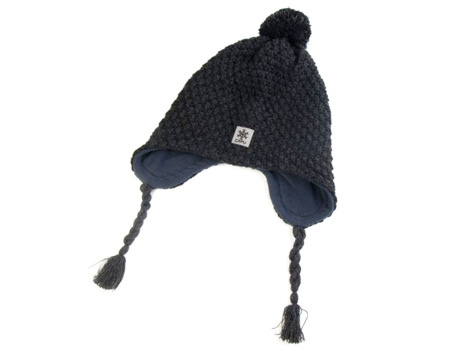 Dětská zimní čepice Capu s reflexními prvky  5fd22d4128