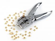 Kleště na zpevnění otvorů s kroužky Ø4 mm (1 sada)