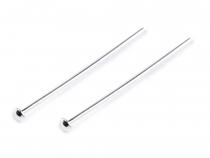 Ketlovací nýt 30 mm s hlavičkou Ag 925 (100 ks)
