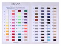 Polyesterové nitě návin 5000 yards PES 40/2 Jason barevnice