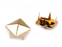 Cvočky na oblečení 12x12mm pyramida (50 ks)
