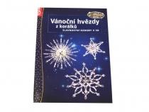 Kniha: Vánoční hvězdy z korálků (1 ks)