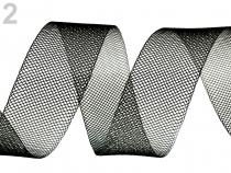 Modistická krinolína jemná šíře 2,5 cm (3 m)