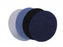 Nažehlovací záplaty 11x14 cm riflové (100 sáček)
