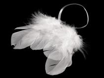 Dekorace andělská křídla 8x9 cm (2 ks)