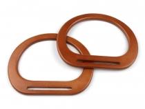 Ucha na tašky dřevěná 13x17 cm s výřezem (12 ks)