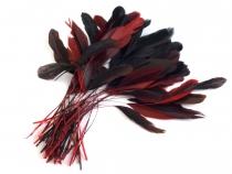 Ozdobné kohoutí peří délka 13-18 cm
