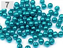 Plastové korálky Glance Ø6 mm (500 g)