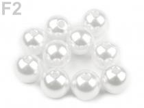 Plastové korálky Glance Ø10 mm (500 g)