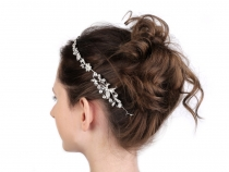 Štrasová ozdoba do vlasů (1 ks)