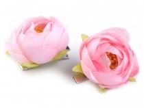 Sponka do vlasů květ růže (5 ks)