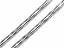 Hadí řetízek 0,2x49 cm z nerezové oceli