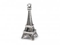 Přívěsek Paříž 3D 10x25 mm 2. jakost