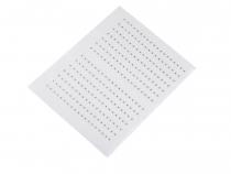 Kovový hot-fix na přenášecí fólii 3x3 mm (1 karta)