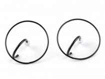 Kovové náušnice kruhy (1 pár)