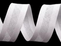 Šikmý proužek bavlněný šíře 30mm zažehlený (450 m)