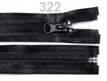 Voděodolný zip šíře 5 mm délka 85 cm spirálový (1 ks)