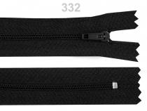Spirálový zip šíře 3 mm délka 35 cm (50 ks)