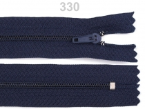 Spirálový zip šíře 3 mm délka 50 cm (50 ks)