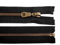 Staromosazný zip šíře 6 mm délka 85 cm (bundový) (50 ks)