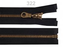 Staromosazný zip šíře 6 mm délka 85 cm (bundový) (1 ks)