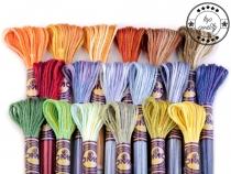 Vyšívací příze DMC Mouliné Color Variations (1 ks)