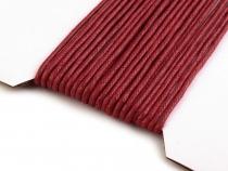 Bavlněná voskovaná šňůra je vhodná na výrobu různých ...