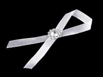Svatební mašlička šíře 30 mm