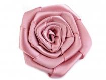 Saténová růže Ø55 mm
