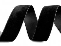 Sametová stuha šíře 25 mm (25 m)