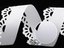 Rypsová stuha šíře 35 mm s výsekem (180 m)