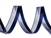 Kombinovaná stuha s lurexem šíře 15 mm (225 m)