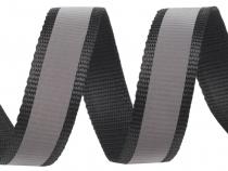 Nylonový popruh šíře 30 mm reflexní (25 m)