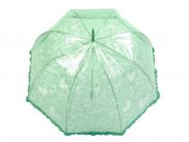 Dámsky dáždnik s rúčkou vystreľovací čipkový vzor