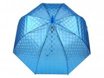 Dámsky dáždnik  rúčkou vystreľovací priehľadný
