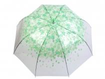 Dámský průhledný vystřelovací deštník (3 ks)