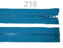 Kostěný zip šíře 5 mm délka 45 cm (bundový) (1 ks)