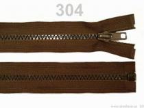 Kostěný zip šíře 5 mm délka 85 cm (bundový) (1 ks)