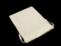 Lněný pytlík 9x11 cm (1 ks)