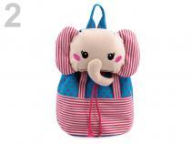 Dětský batoh 25x29cm s aplikací (1 ks)