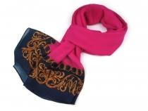 Šátek s bordurou 70x180 cm (3 ks)