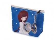 Dívčí peněženka 8,5x12,5 cm 2. jakost (4 ks)