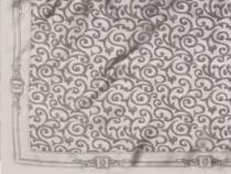 Saténový šátek 93x93 cm s ornamenty (1 ks)