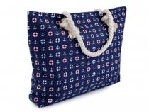 Textilní taška 35x51 cm kotvy