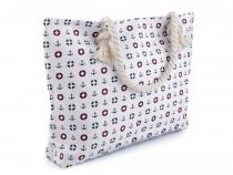 Textilní taška 35x51 cm kotvy 2. jakost