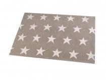 Prostírání hvězdy 30x45 cm (4 ks)