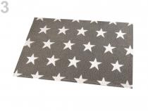 Prostírání hvězdy 30x45 cm (2 ks)