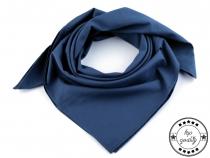 Bavlněný šátek jednobarevný 65x65 cm (5 ks)