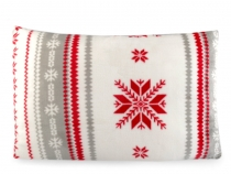 Povlak na polštář Flannel fleece vánoční 50x70 cm (4 ks)